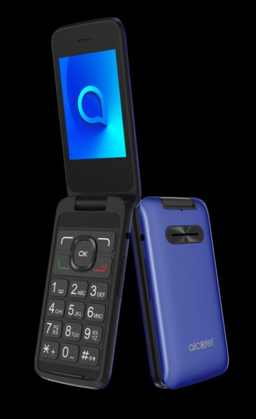 Alcatel 3025X Metal Blue