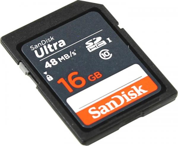Карта памяти SanDisk SDSDUNB-016G-GN3IN