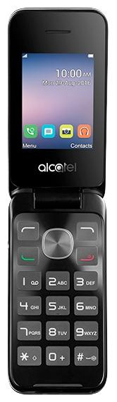 Alcatel 2051D Black/Metal Silver