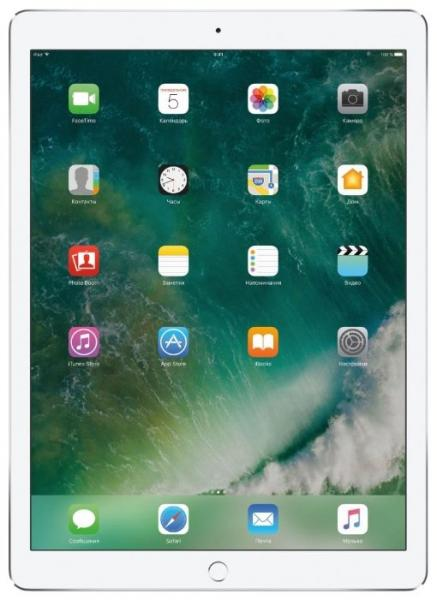 Apple iPad Pro 12.9 (2017) 64Gb Wi-Fi Silver (MQDC2RU/A)