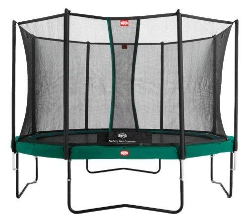 Батут  Berg BERG Favorit 430 Tattoo  + Safety  Net Comfort 430 зеленый