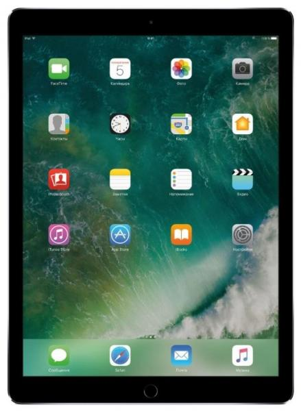 Apple iPad Pro 12.9 256Gb Wi-Fi + Cellular Silver (MPA52RU/A)